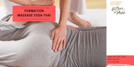 Massage Yoga-Thaïlandais (22h) billets