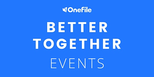 Better Together - With OneFile and Customers, Stephenson College | Morning Session