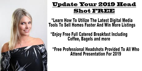 Real Estate Marketing + Headshots tickets