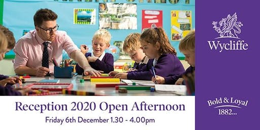 Reception 2020 Open Afternoon