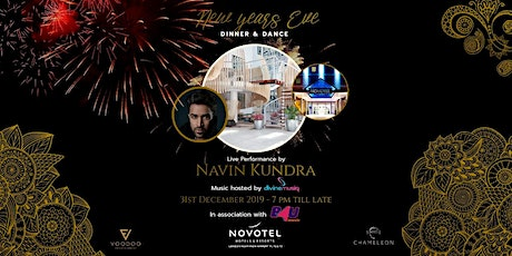The Glitz & Glam NEW YEARS EVE Dinner and Dance at Novotel London Heathrow tickets