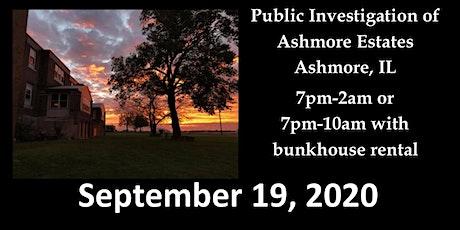 September Public Investigation tickets