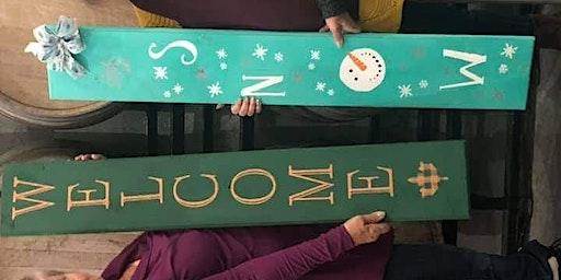 Porch Sign Make And Take