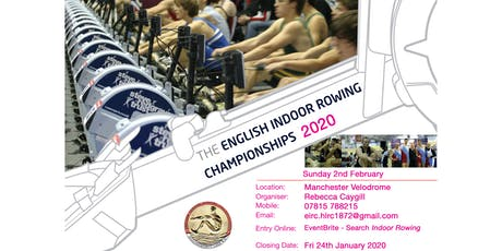 English Indoor Rowing Championships 2020 tickets