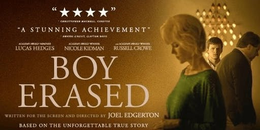 UEA Young Programmers Screening of Boy Erased