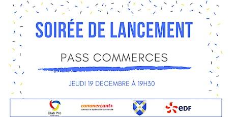 Soirée de lancement du pass commerces à Pont-de-Chéruy billets