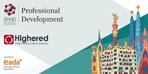 EFMD Highered Career Professional Development Institute May 4-6 2020