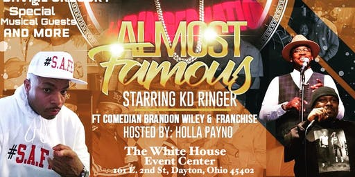 'Almost Famous' Comedy Show starring KD Ringer