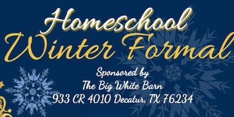 Homeschool Winter Formal tickets