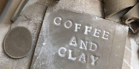 Coffee and Clay - Mug Making Workshop tickets