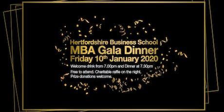 Hertfordshire MBA Gala Dinner tickets