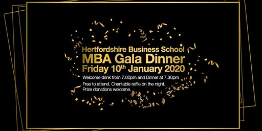 Hertfordshire MBA Gala Dinner