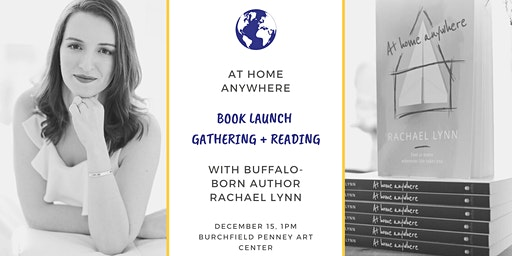 POSTPONED: At Home Anywhere Book Launch w/ Buffalo Born Author Rachael Lynn