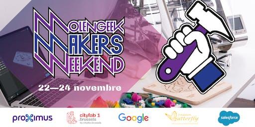 MolenGeek Makers Weekend — Creation d'objets tech DIY