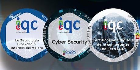 Cyber Security: tutelare dati, informazioni e processi aziendali biglietti