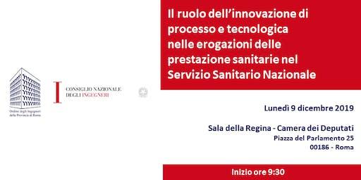 Il ruolo dell'innovazione nel Servizio Sanitario Nazionale