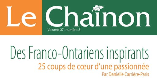 Lancement d'un numéro spécial du Chaînon!