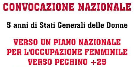 5 anni di Stati Generali delle Donne biglietti