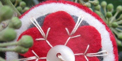 Scandinavian Snowflake Brooch