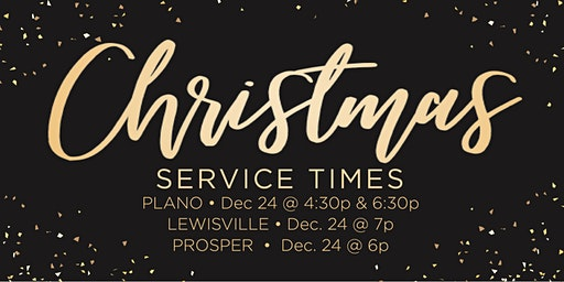 One Community Church - Christmas Eve Candlelight Services