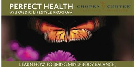 Intro to Perfect Health with Ayurveda tickets