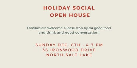 Davis County League of Women Voters Holiday Open House tickets