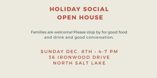 Davis County League of Women Voters Holiday Open House
