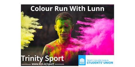 Colour Run with Lunn tickets