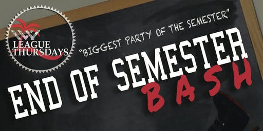 END OF SEMESTER BASH @ IVY LEAGUE THURSDAYS | NOV. 21ST