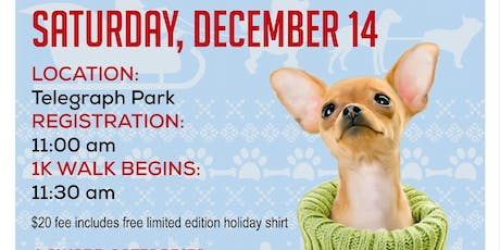 4th Annual Ugly Sweater Dog Walk tickets