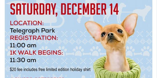 4th Annual Ugly Sweater Dog Walk