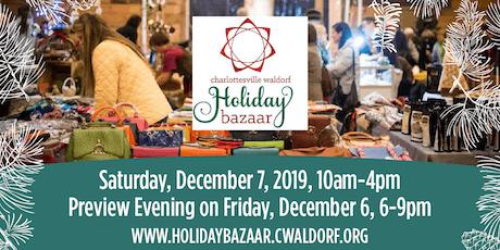 Charlottesville Waldorf School Holiday Bazaar tickets
