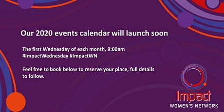 2nd September 2020 #ImpactWednesday - Impact Women's Network tickets