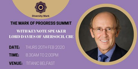 The Mark of Progress Conference tickets