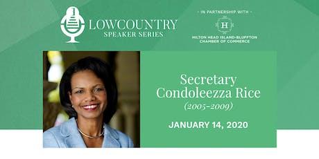Lowcountry Speaker Series 2020 - Condoleezza Rice tickets