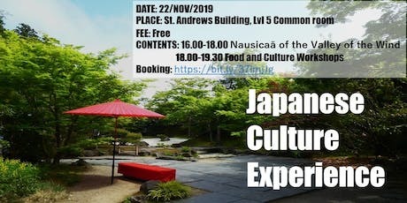 Culture Club: Experience Japan tickets