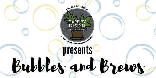Bubbles and Brews at Care By Design Market!