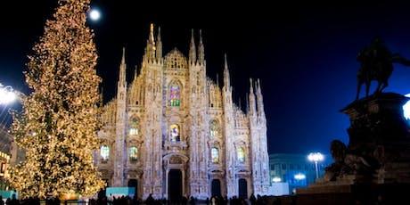 Christmas Party in Duomo. Free gadgets a tema biglietti