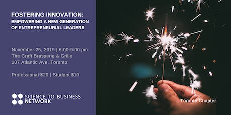 Fostering Innovation:Empowering a New Generation of Entrepreneurial Leaders tickets