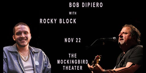 The Masters starring Bob DiPiero and Special Guest Rocky Block