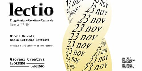 LECTIO - Progettazione Creativa e Culturale biglietti