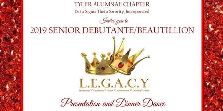 2019 Senior Debutante and Beautillion Presentation and Dinner tickets