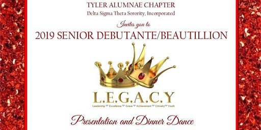 2019 Senior Debutante and Beautillion Presentation and Dinner