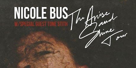Nicole Bus + Tone Stith tickets