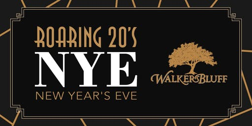 Roaring 20's New Year's Eve Party at Walker's Bluff