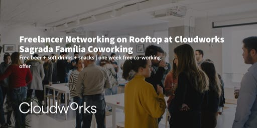 Freelancer Networking on Rooftop at Cloudworks Sagrada Família