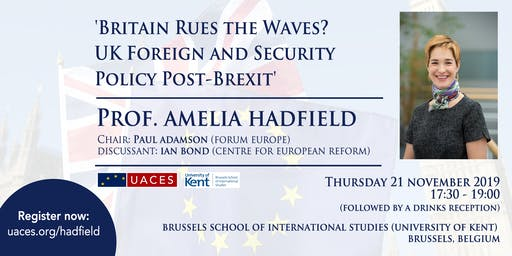 Britain Rues the Waves? UK Foreign & Security Policy Post-Brexit
