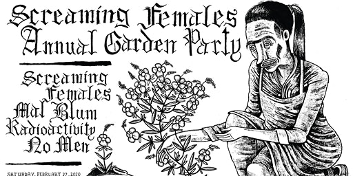 Screaming Females Annual Garden Party