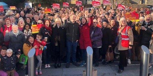 Campaigning in Kensington