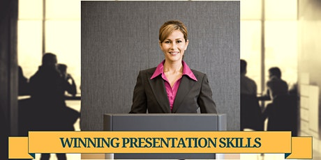 Winning Presentation Skills (PERTH) tickets